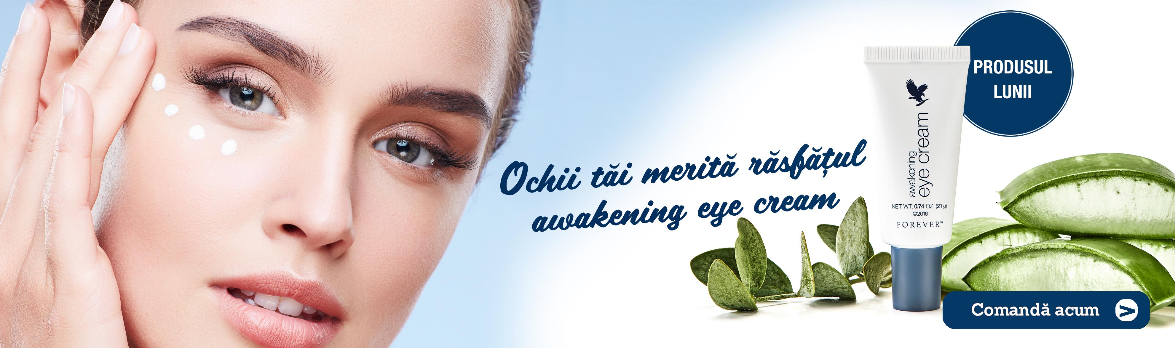 crema de ochi awakening eye creme