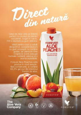 SET FLYER ALOE PEACHES